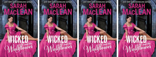 books, cover of Wicked and the Wallflower by Sarah MacLean, Modern Novels Jane Austen Would Love