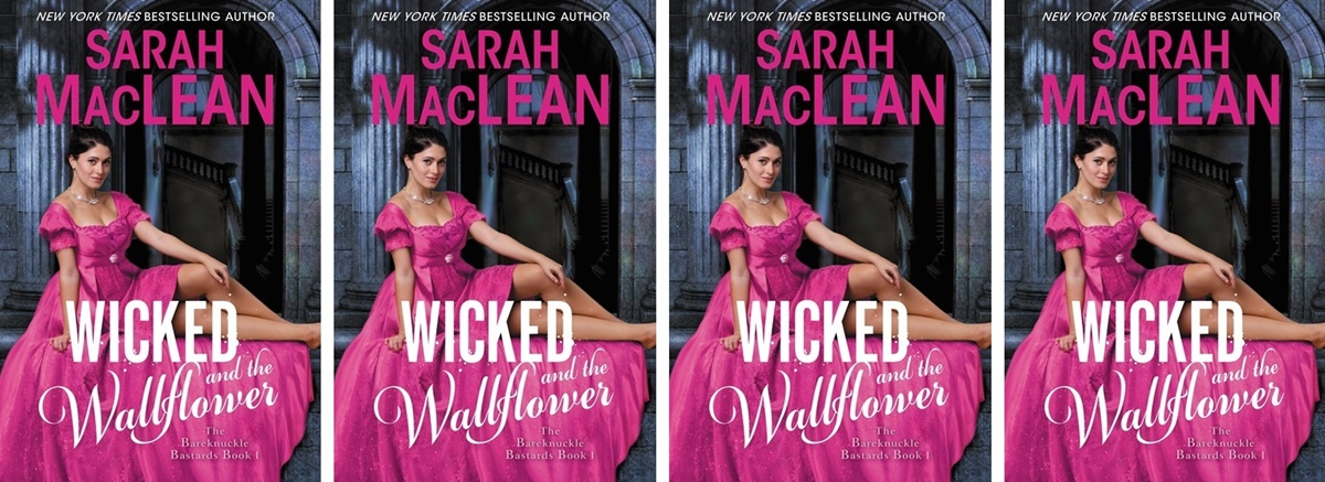 Modern Novels Jane Austen Would Love, cover of Wicked and the Wallflower by Sarah MacLean, books
