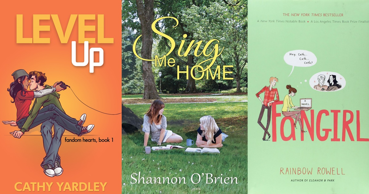 College Romance Novels, three book covers of college romance novels, books