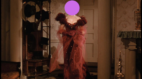 movies, gone with the wind, 1939, scarlett's red party dress