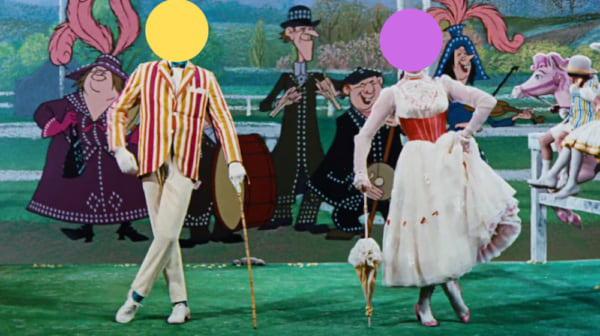 movies, Mary Poppins, 1964, Julie Andrews, Dick Van Dyke