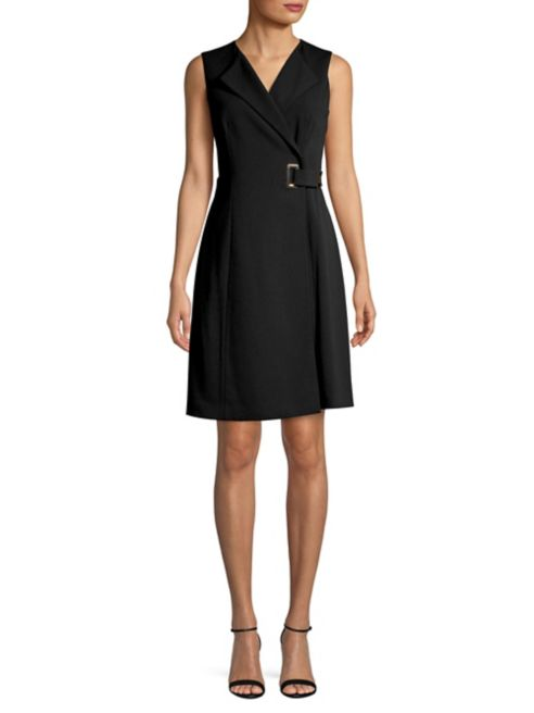 Belted coat dress from Lord and Taylor