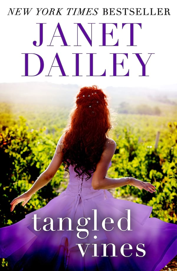 Janet Dailey Romance Novels, cover of Tangled Vines by Janet Dailey, books