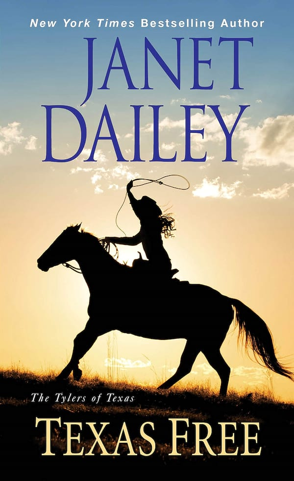 Janet Dailey Romance Novels, cover of Texas Free by Janet Dailey, books