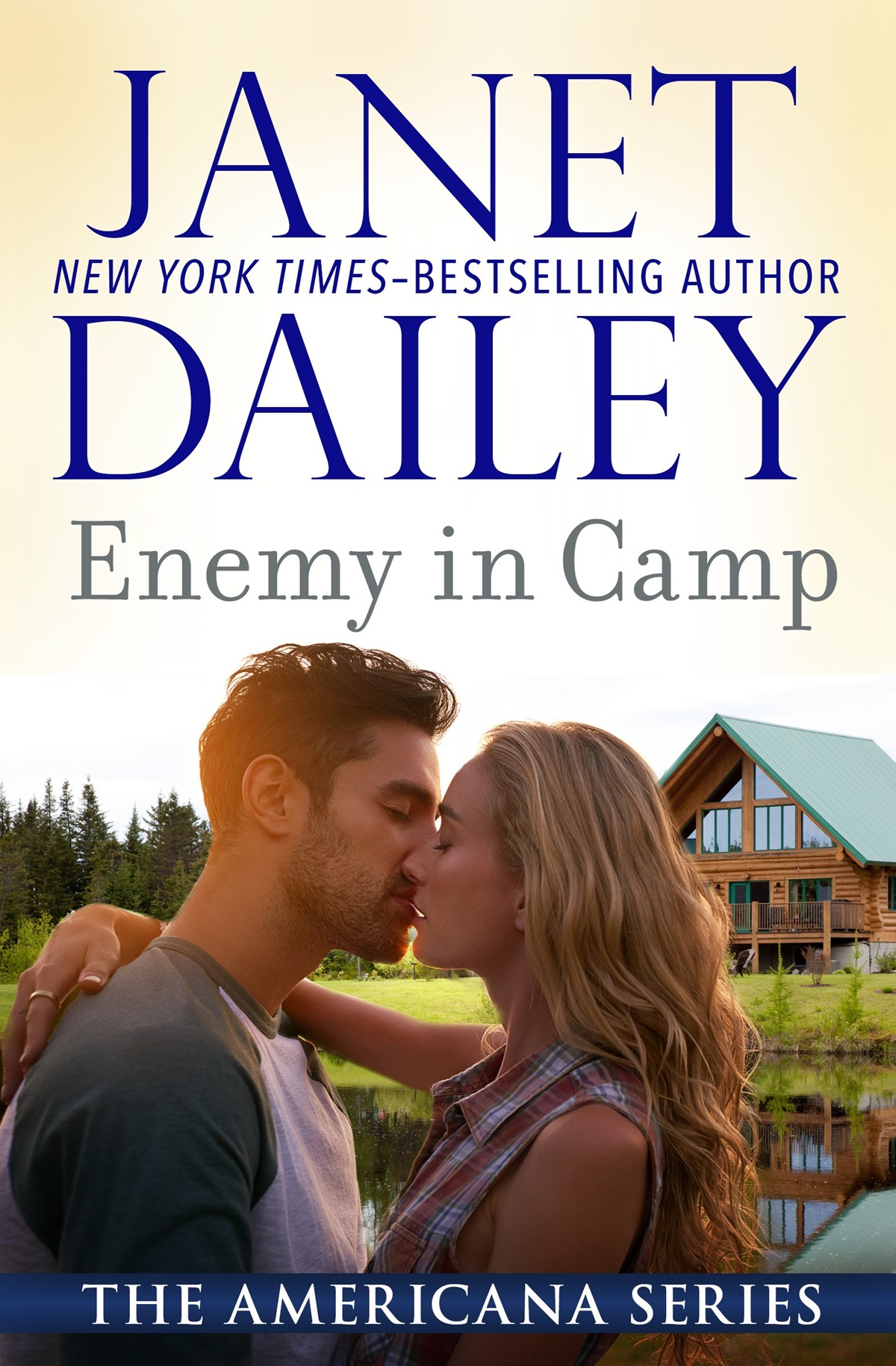 Janet Dailey Romance Novels, cover of Enemy in Camp by Janet Dailey, books