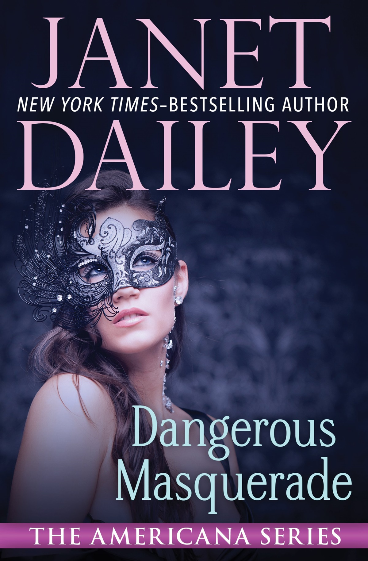 Janet Dailey Romance Novels, cover of Dangerous Masquerade by Janet Dailey, books