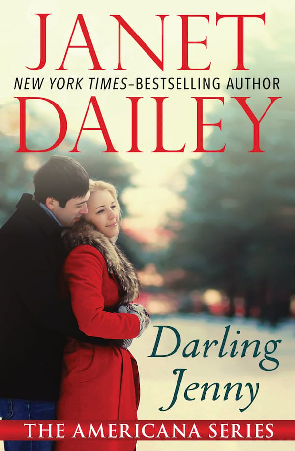 Janet Dailey Romance Novels, cover of Darling Jenny by Janet Dailey, books
