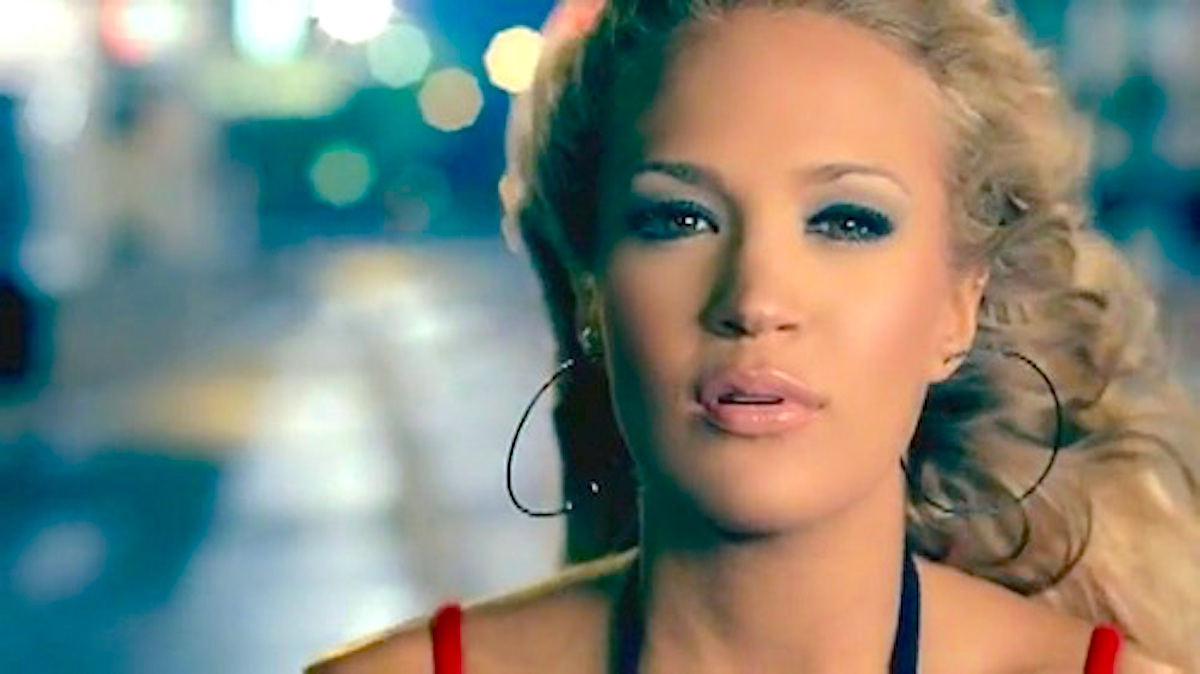 Music, Carrie Underwood, before he cheats, music video, 2005, country