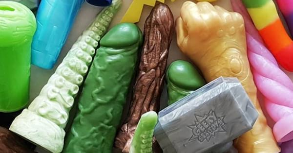 Pop culture-inspired sex toys from Geeky Sex Toys