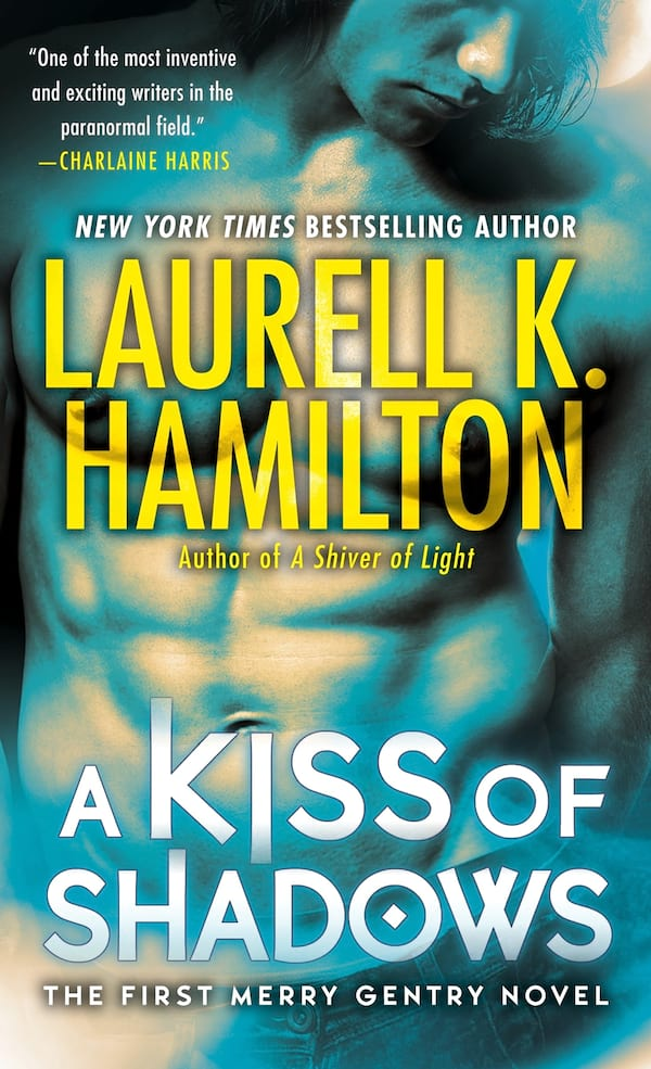 Best Trashy Romance Novels, cover of A Kiss of Shadows by Laurell K. Hamilton, books