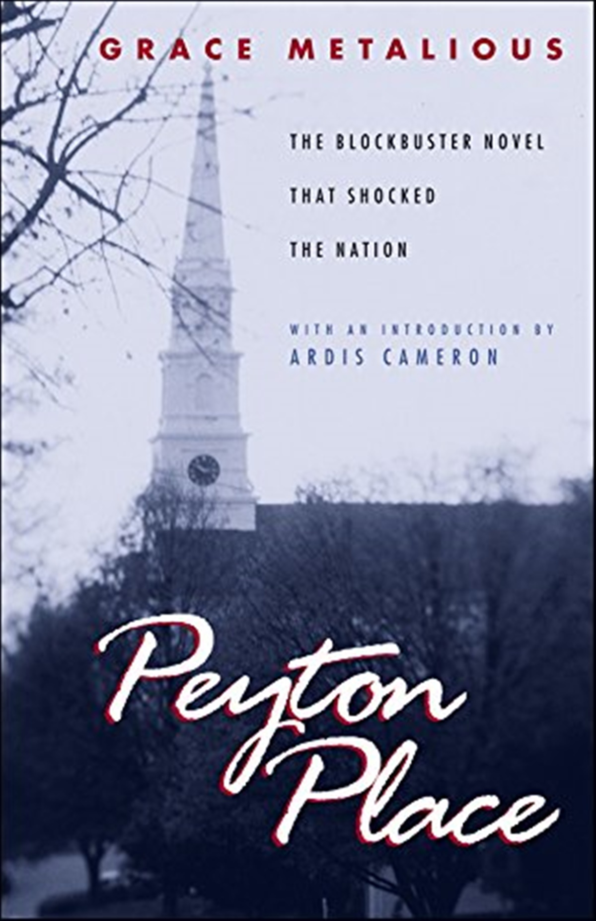 Best Trashy Romance Novels, cover of Peyton Place by Grace Metalious, books