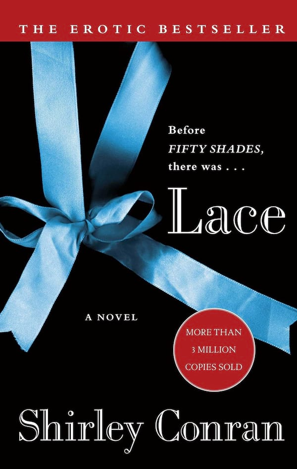 Best Trashy Romance Novels, cover of Lace by Shirley Conran, books