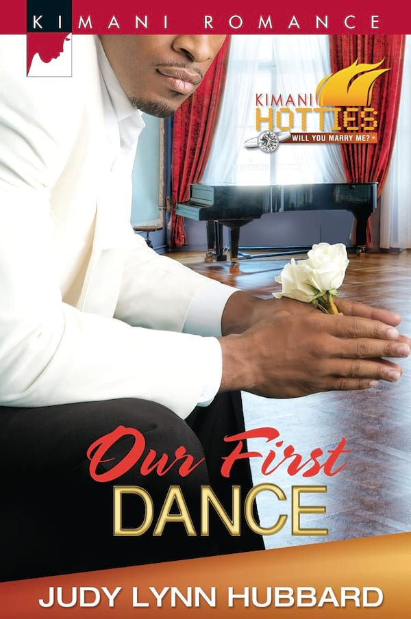 Romance Novels About Dancers, cover of Our First Dance by Judy Lynn Hubbard, books