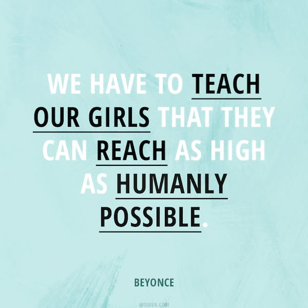 women's history month 2019 instagram, beyonce quote