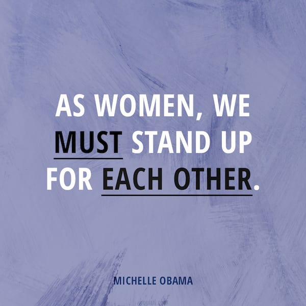 women's history month 2019 instagram, michelle obama quote