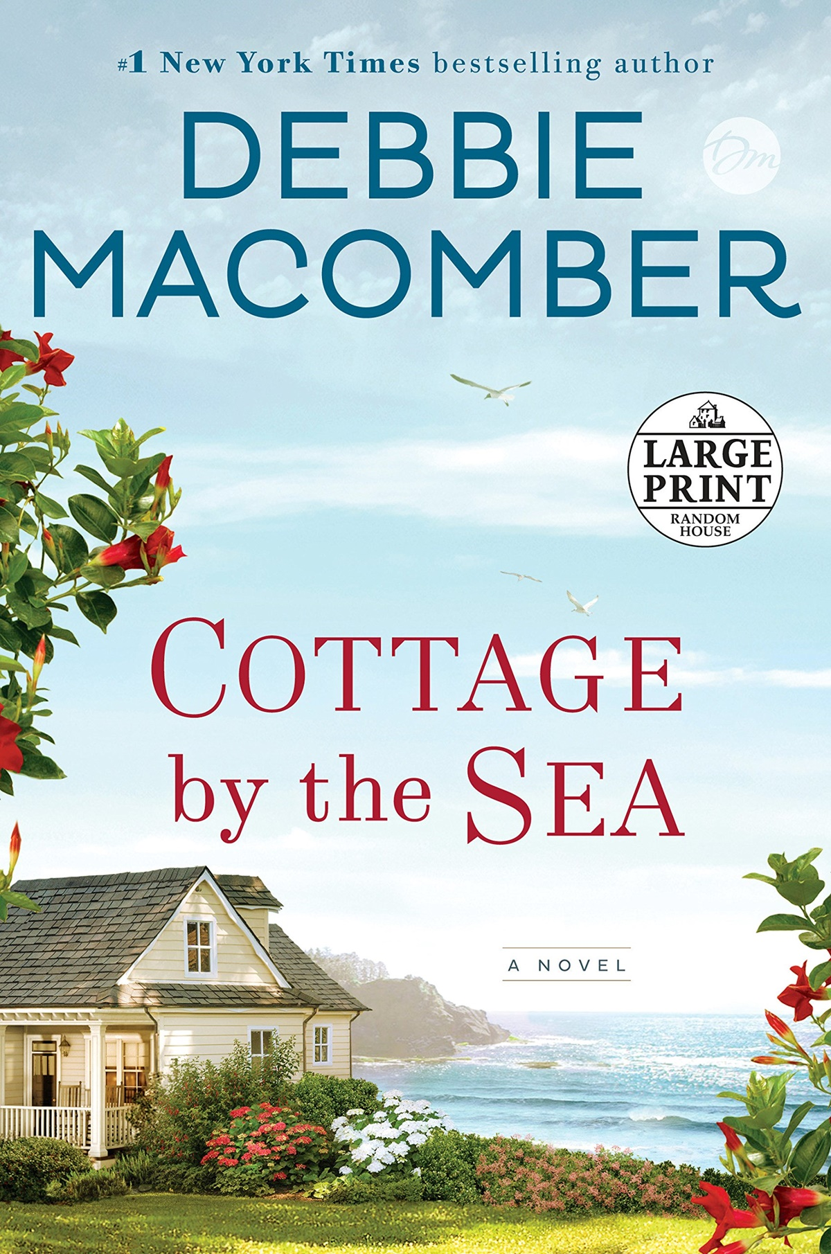 Clean Romance Novels, cover of Cottage by the Sea by Debbie Macomber, books