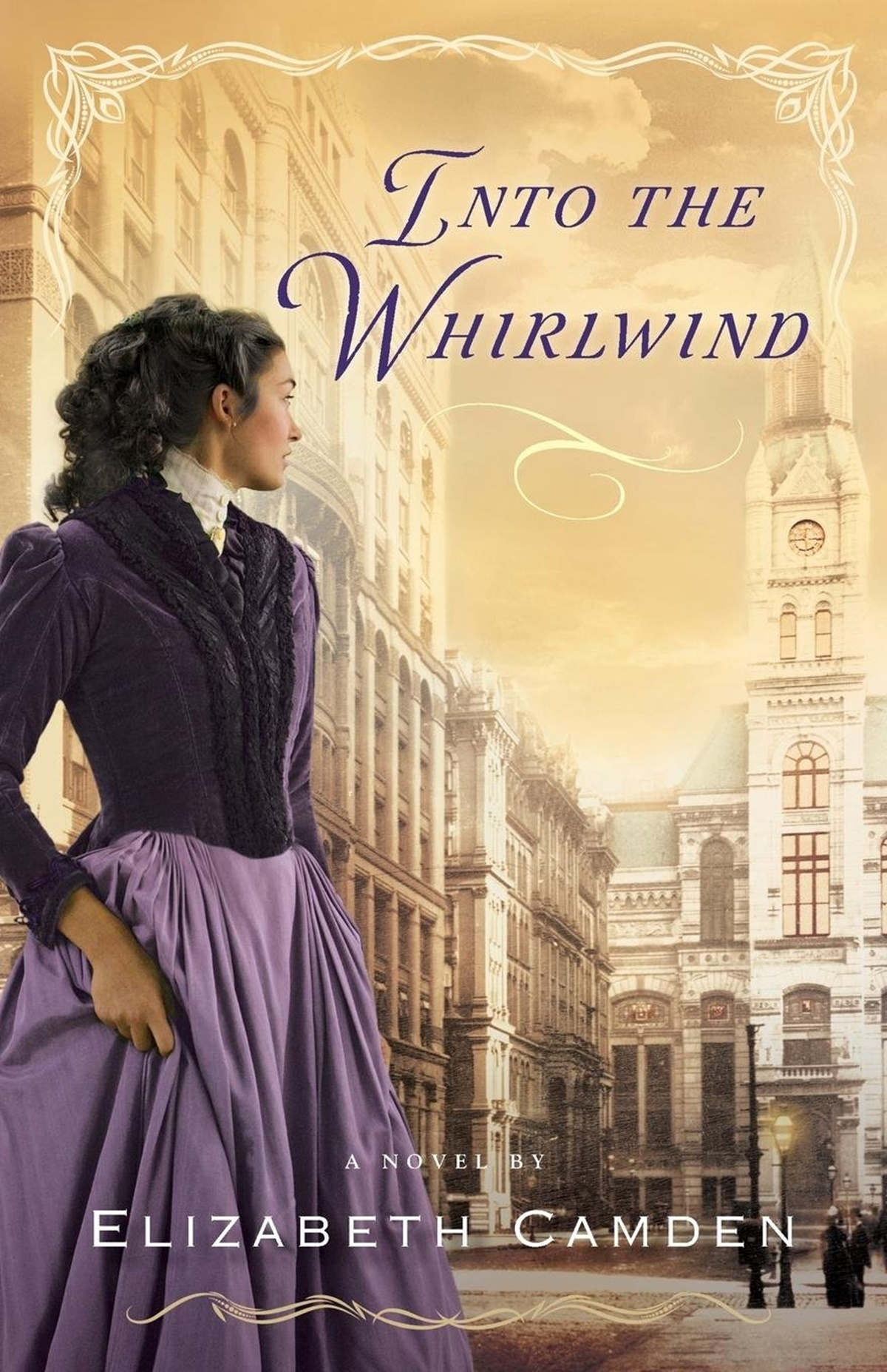 Clean Romance Novels, cover of Into the Whirlwind by Elizabeth Camden, books