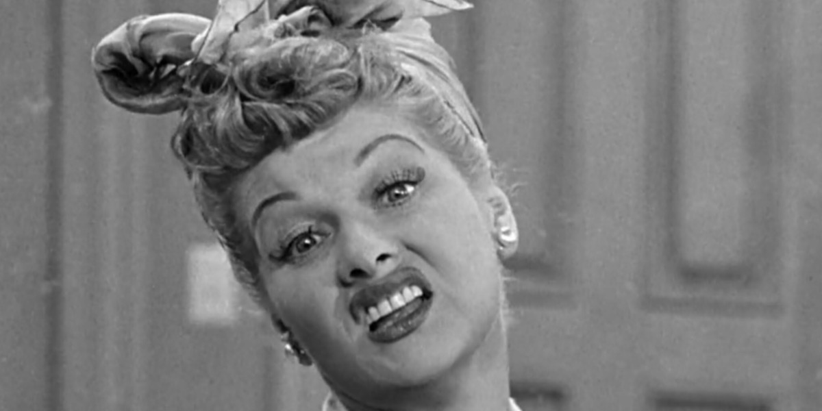 retro tv character, tv, I Love Lucy