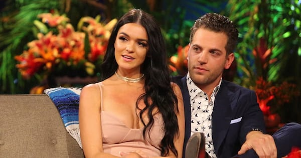 raven gates and adam gottschalk from bachelor in paradise tv abc