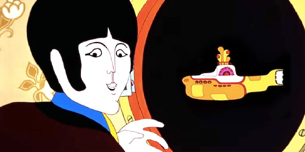 the beatles yellow submarine videoclip, the beatles yellow submarine original