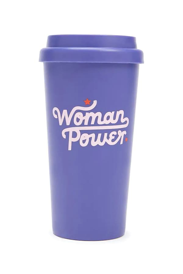 'Woman Power' travel mug from Forever 21