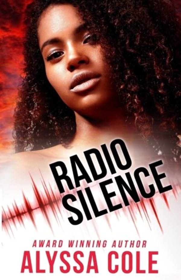 books, cover of Radio Silence by Alyssa Cole, Dystopian Romance Novels