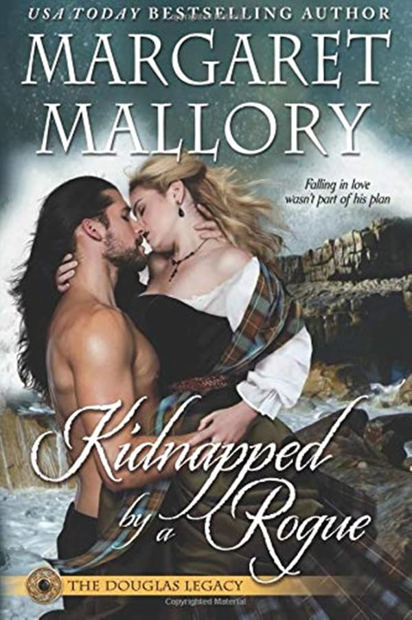Scottish Romance Novels, cover of Kidnappedy by a Rogue by Margaret Mallory, books