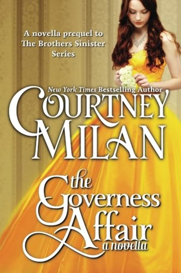 Pregnancy Romance Novels, cover of The Governess Affair by Courtney Milan, books