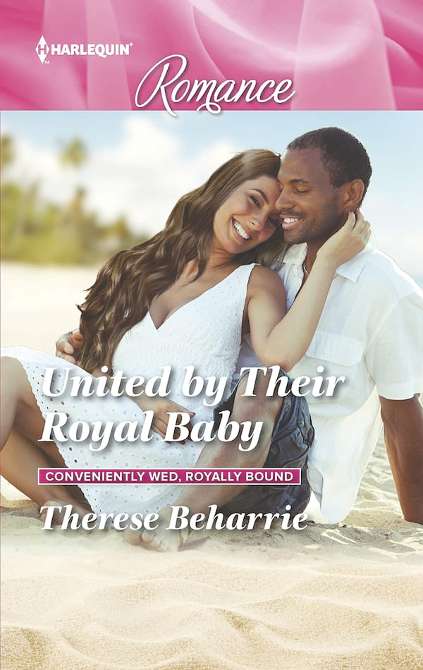 Pregnancy Romance Novels, cover of United by Their Royal Baby by Therese Baharrie, books