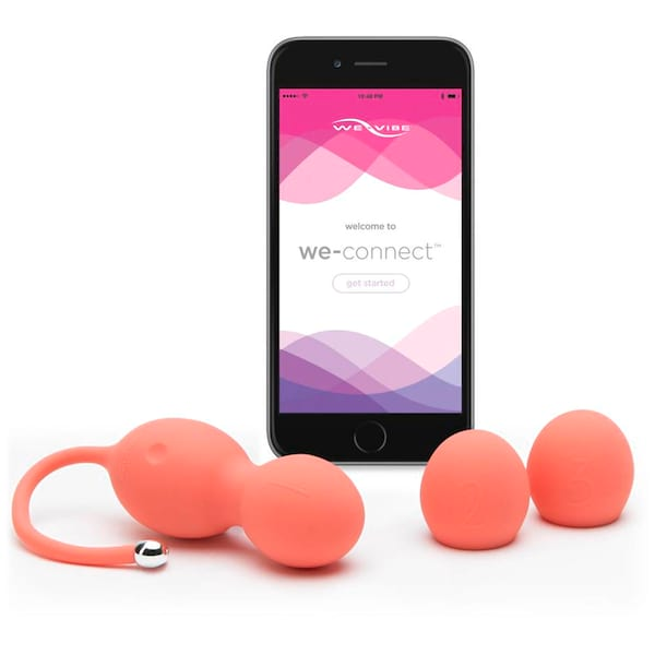 We-Vibe Bloom Rechargeable App Control Vibrating Kegel Balls from Lovehoney