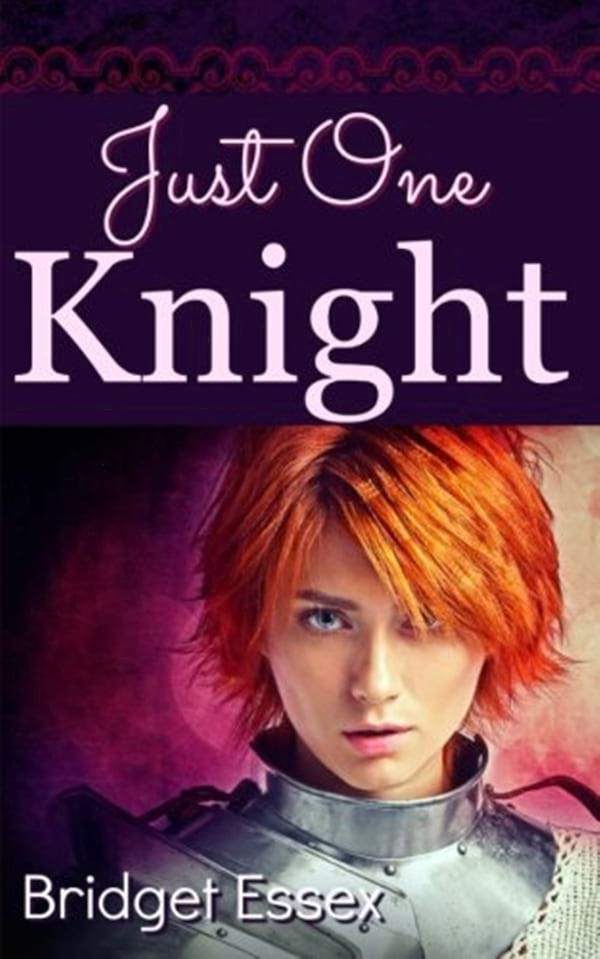 Medieval Romance Novels, cover of Just One Knight by Bridget Essex, books