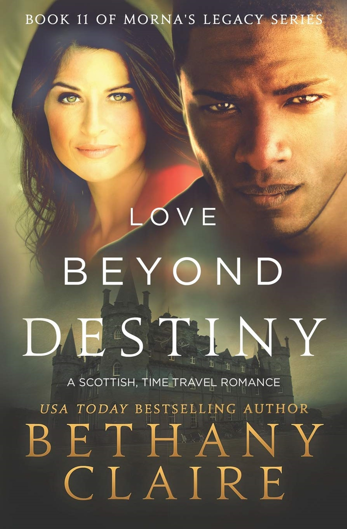Medieval Romance Novels, cover of Love Beyond Destiny by Bethany Claire, books