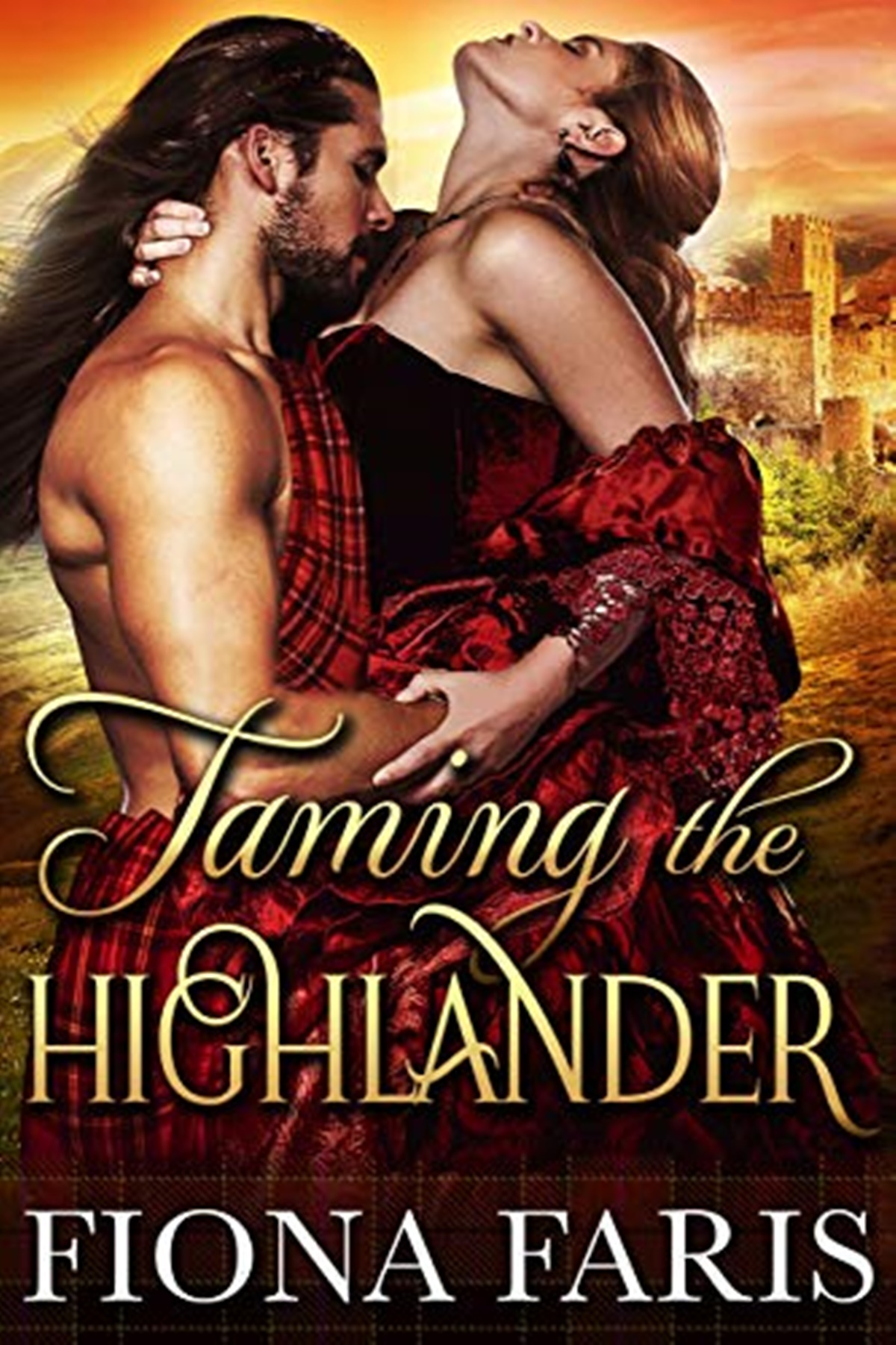 Medieval Romance Novels, cover of Taming the Highlander by Fiona Faris, books