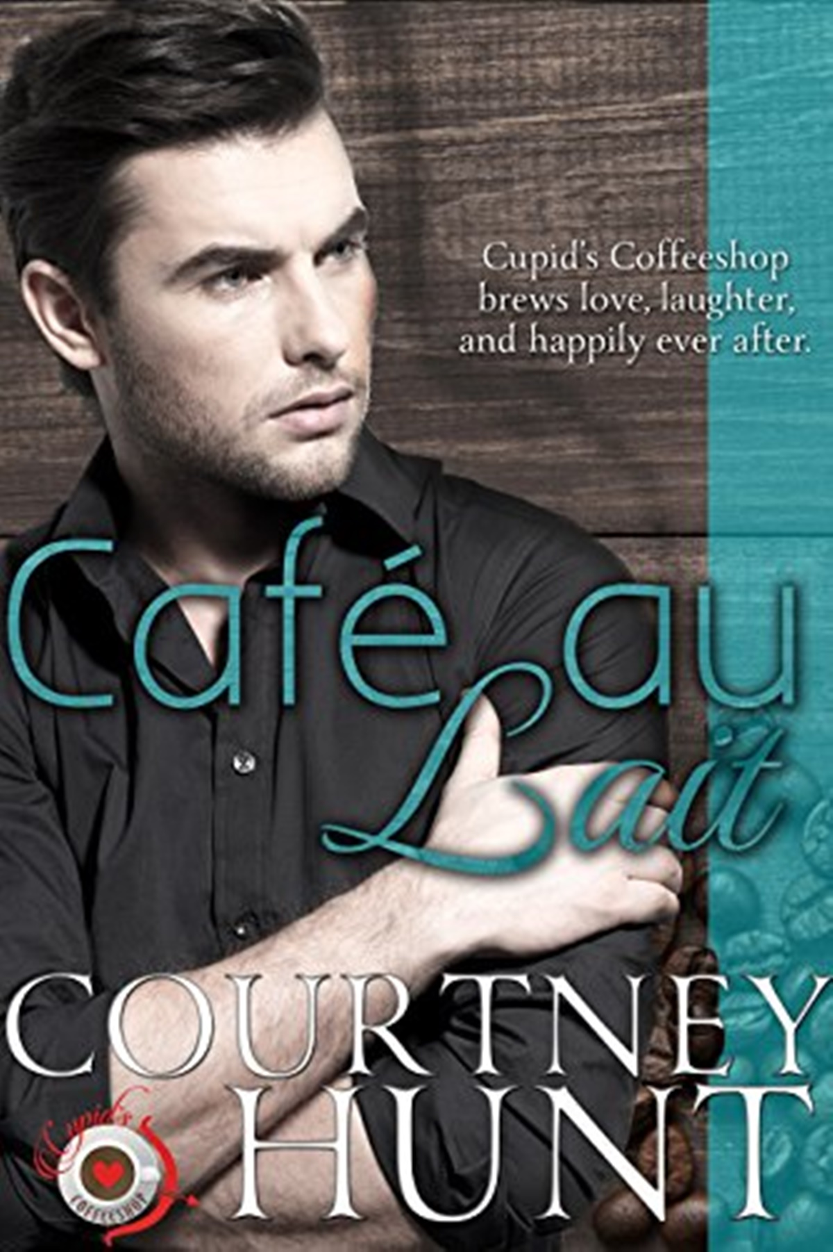 Coffee Shop Romance Novels, cover of Cafe Au Lait by Courtney Hunt, books