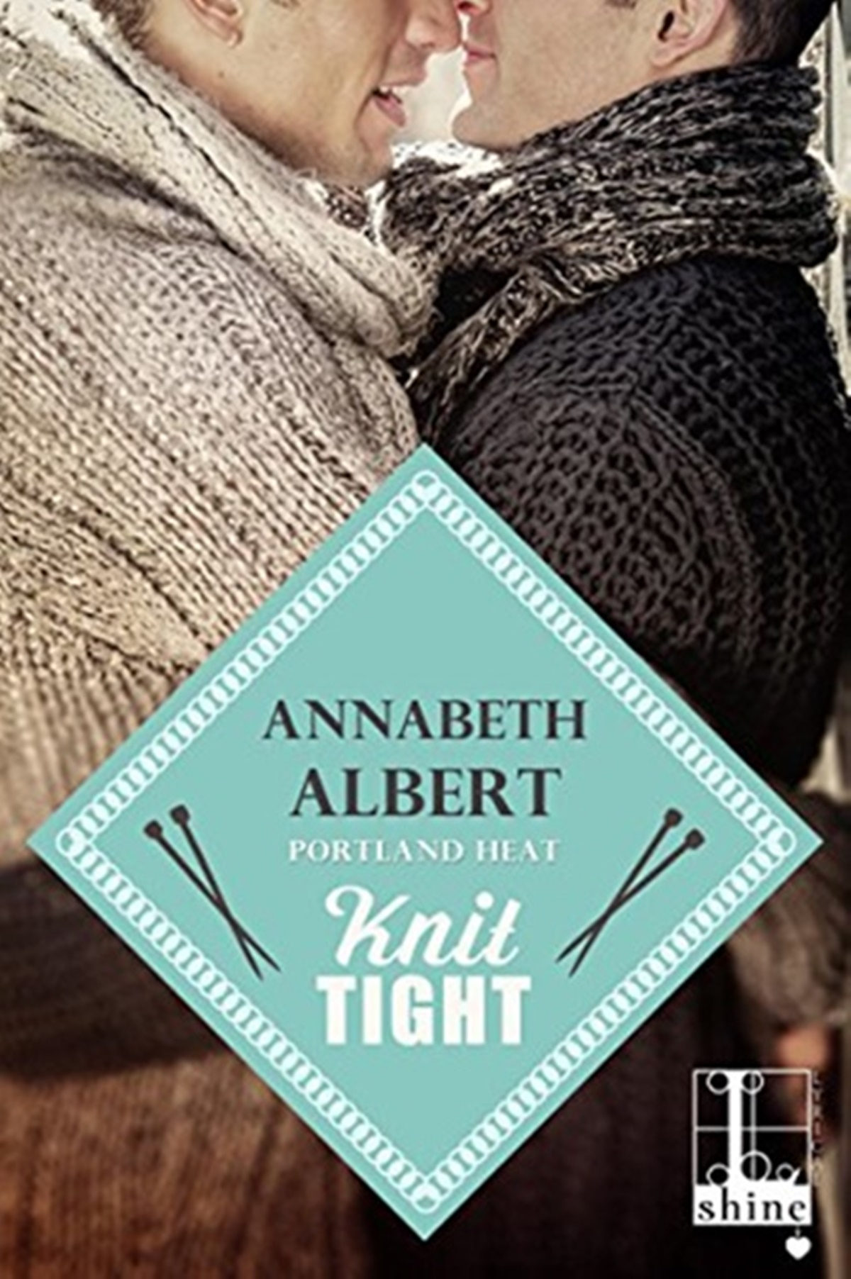 Coffee Shop Romance Novels, cover of Knit Tight by Annabeth Albert, books
