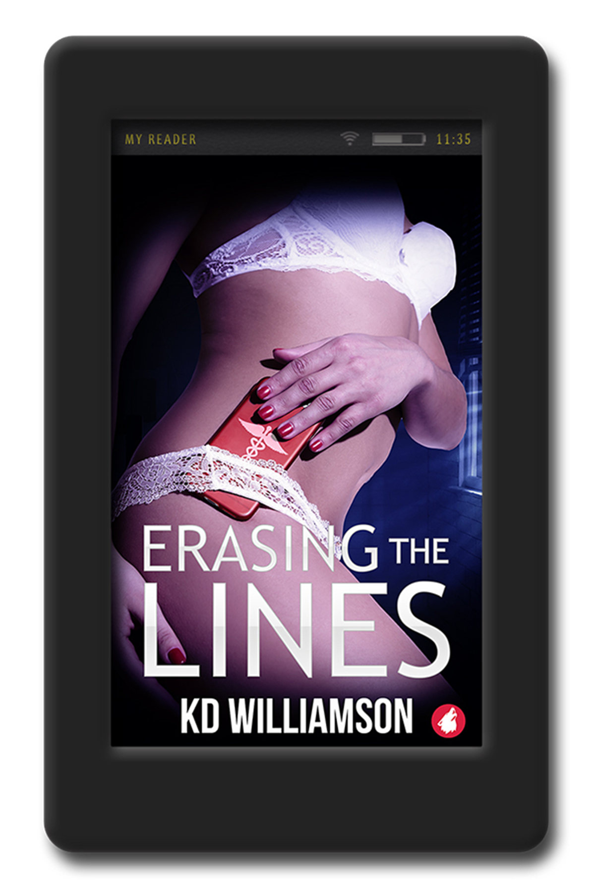 Short Romance Stories, Erasing the Lines by K.D. Williamson, books