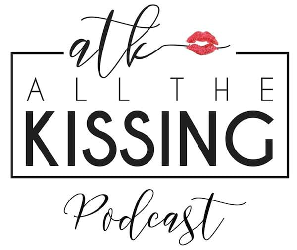 Romance Podcasts, cover image for All the Kissing podcast, books