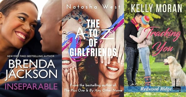 Romance Tropes, three friends-to-lovers romance book covers, books