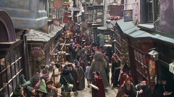 harry potter, movies, Diagon Alley
