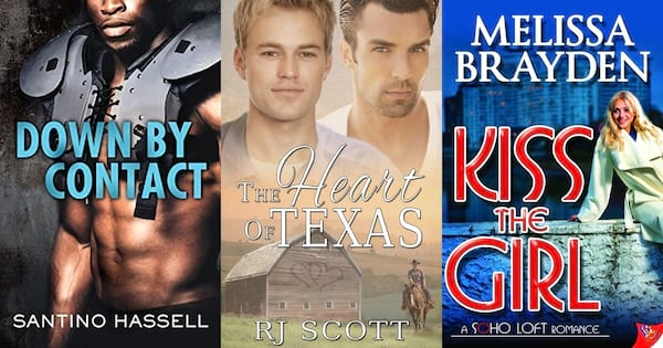 Romance Tropes, covers of three enemies-to-lovers books, books