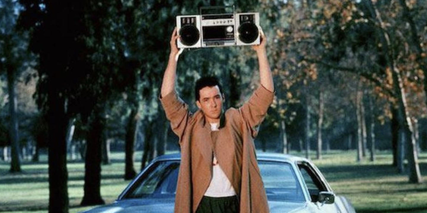 say anything, 80s movie end scene, movies