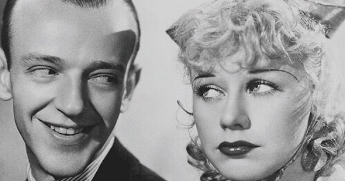 fred astaire and ginger rogers black and white