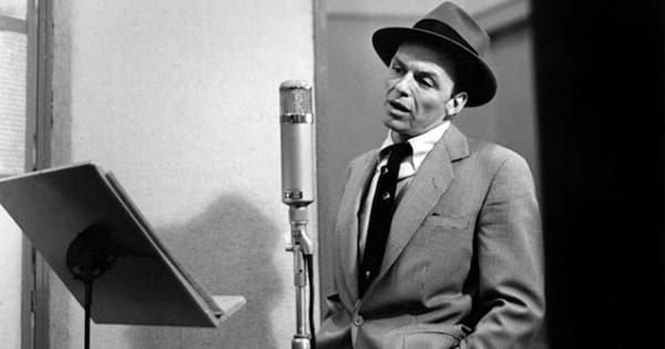 frank sinatra black and white