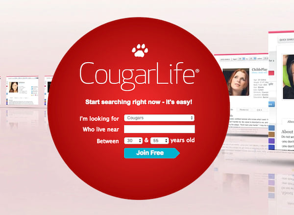 Homepage for CougarLife