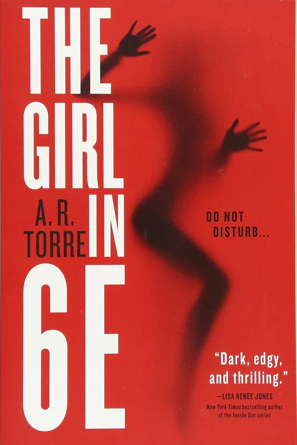 Erotic Suspens Romance Novels, book cover of The Girl in 6E by A.R. Torre, books