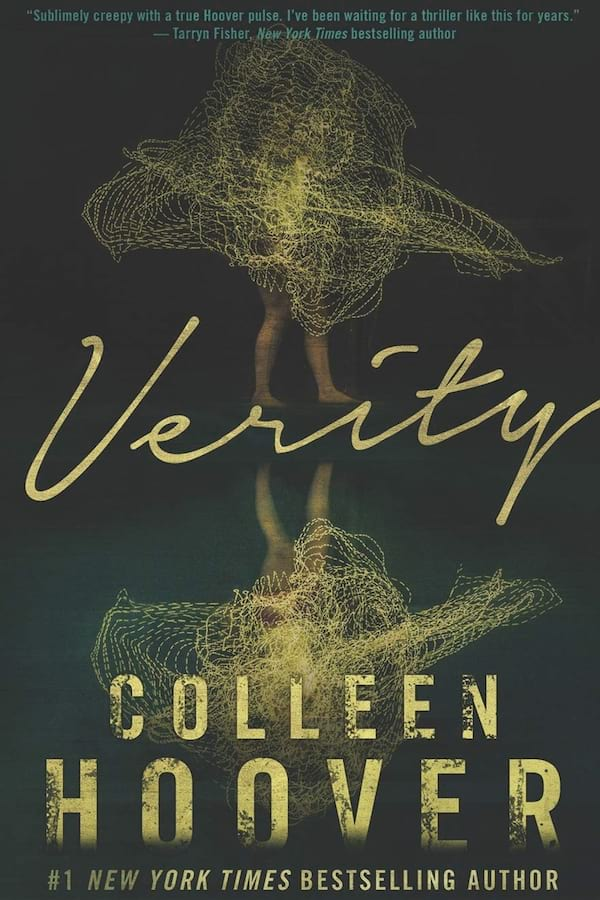 Erotic Suspense Romance Novels, the cover of Verity by Colleen Hoover, books