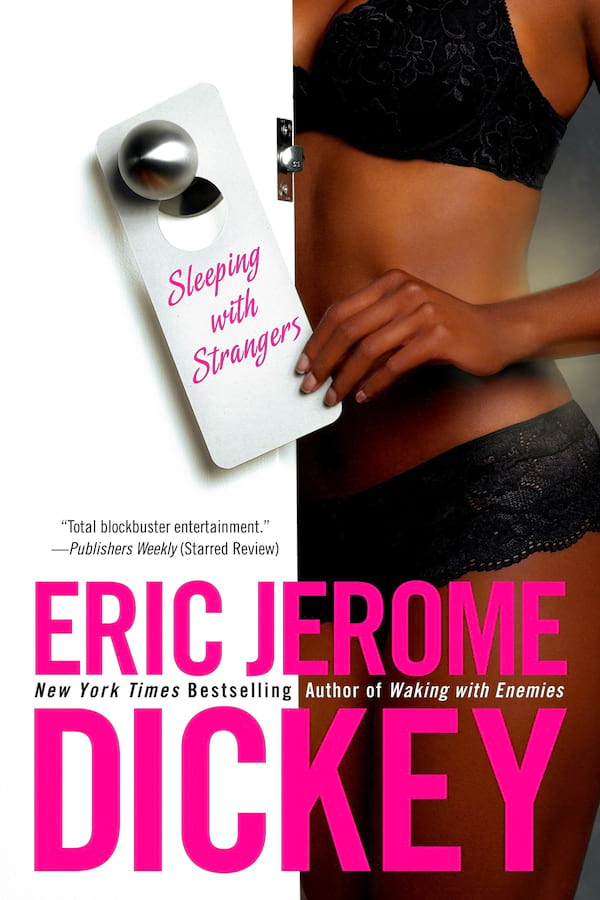 Erotic Suspense Romance Novels, cover of Sleeping with Strangers by Eric Jerome Dickey, books