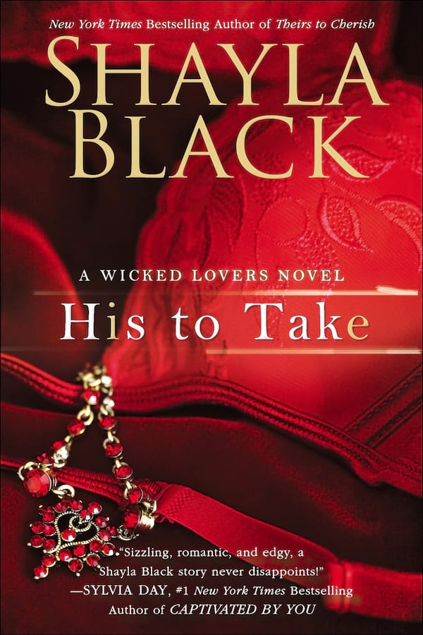 Erotic Suspense Romance Novels, cover of His to Take by Shayla Black, books
