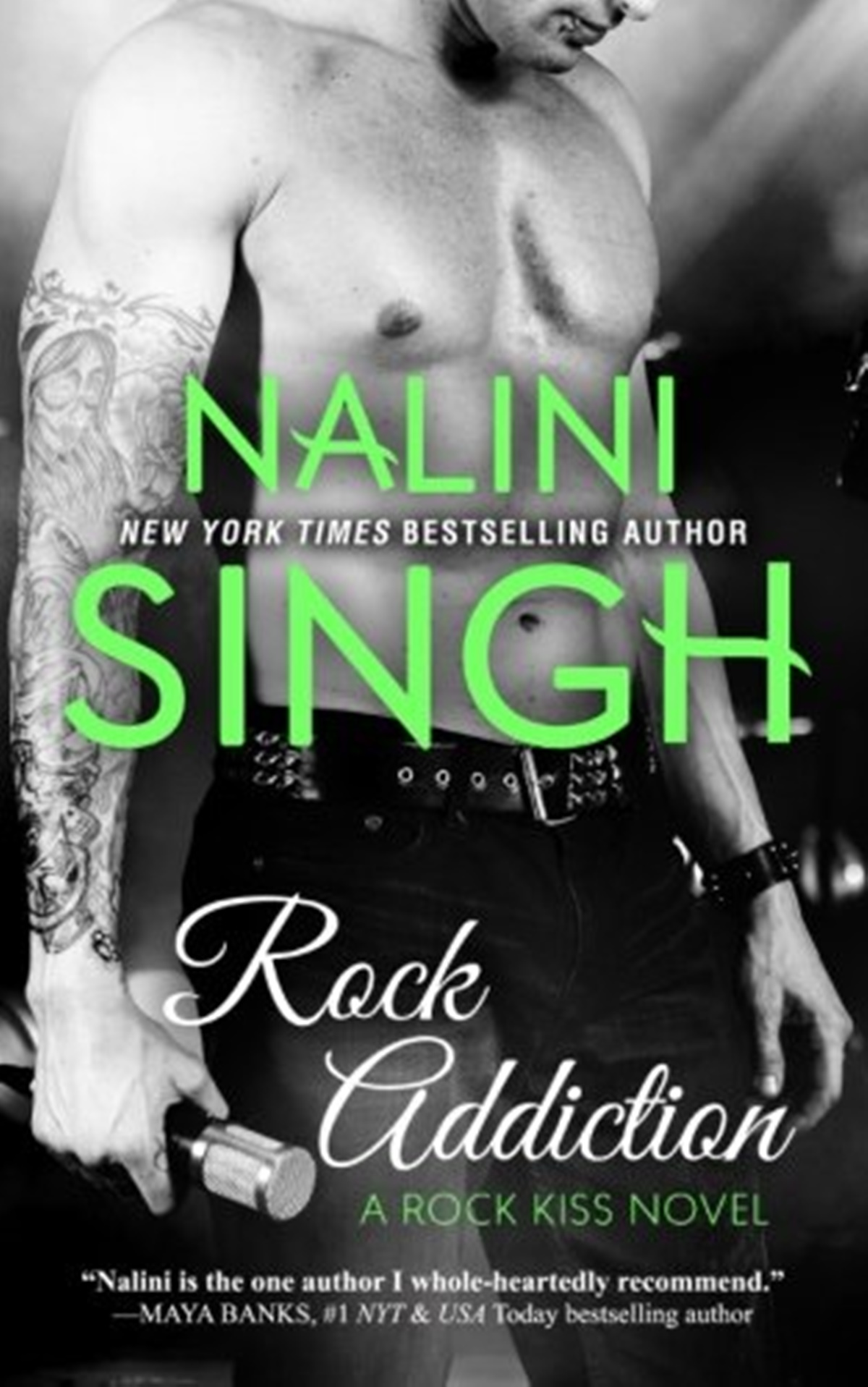 Rocker Romance Novels, cover of Rock Addiction by Nalini Singh, books