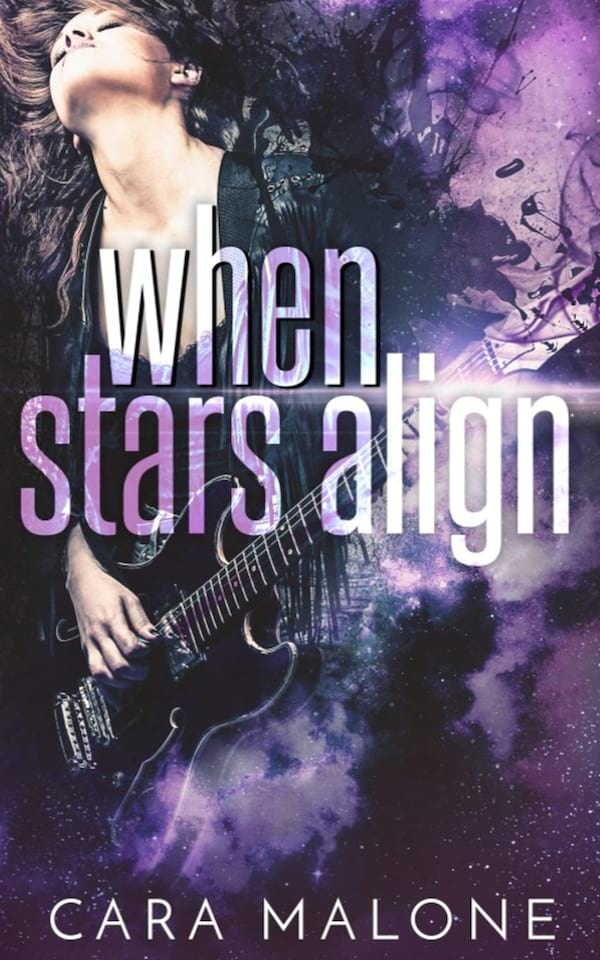 Rocker Romance Novels, cover of When Stars Align by Cara Malone, books